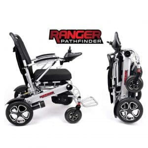 Portola Tech Dual Motor Ranger X6 Wheelchair