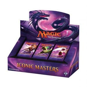 Magic: The Gathering Booster Box Iconic Masters