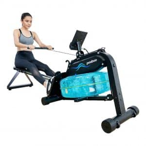pooboo Magnetic/Water Rowing Machine