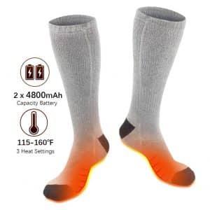 XBUTY Unisex Heated Socks