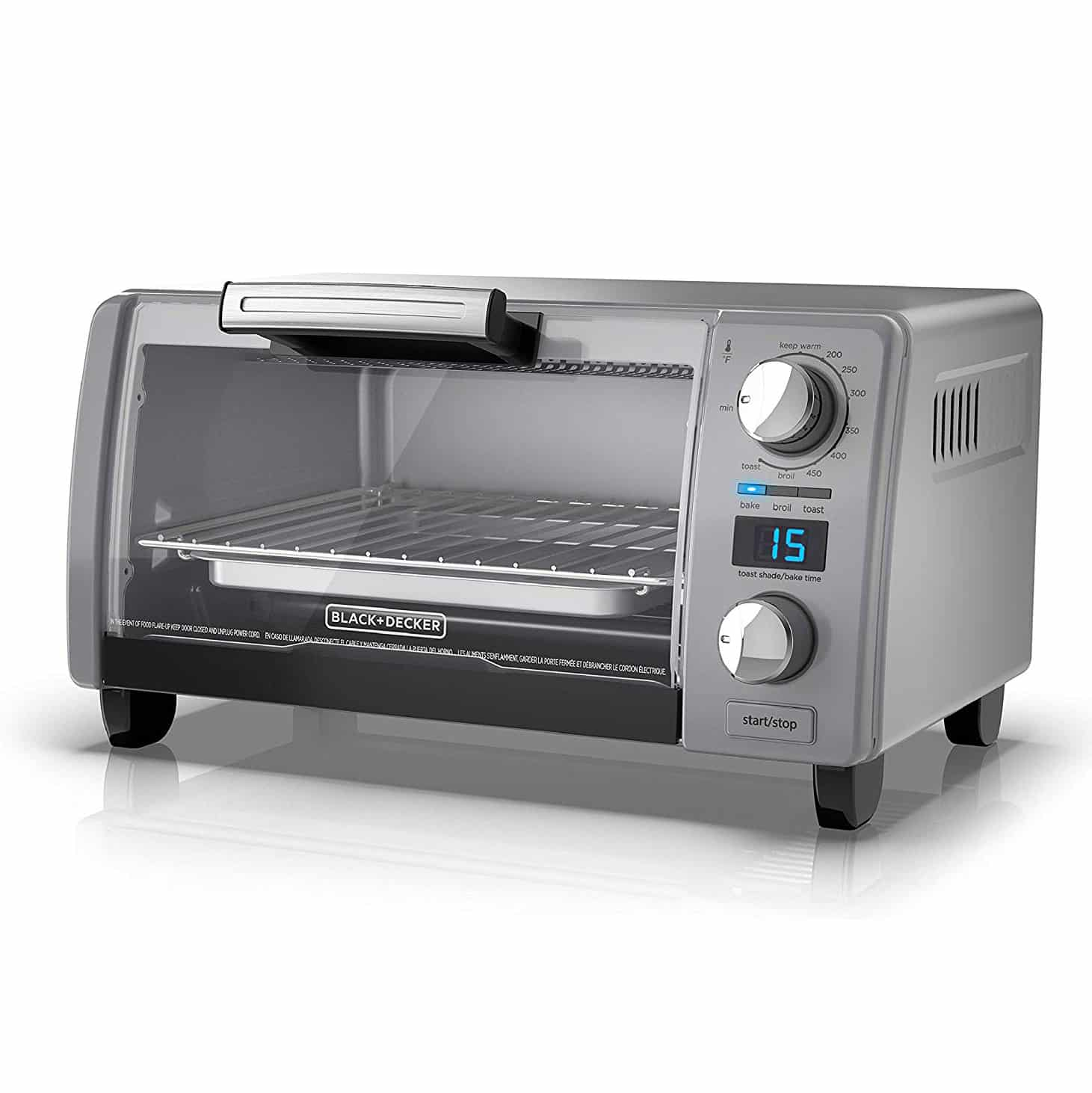 BLACK+DECKER Digital Toaster