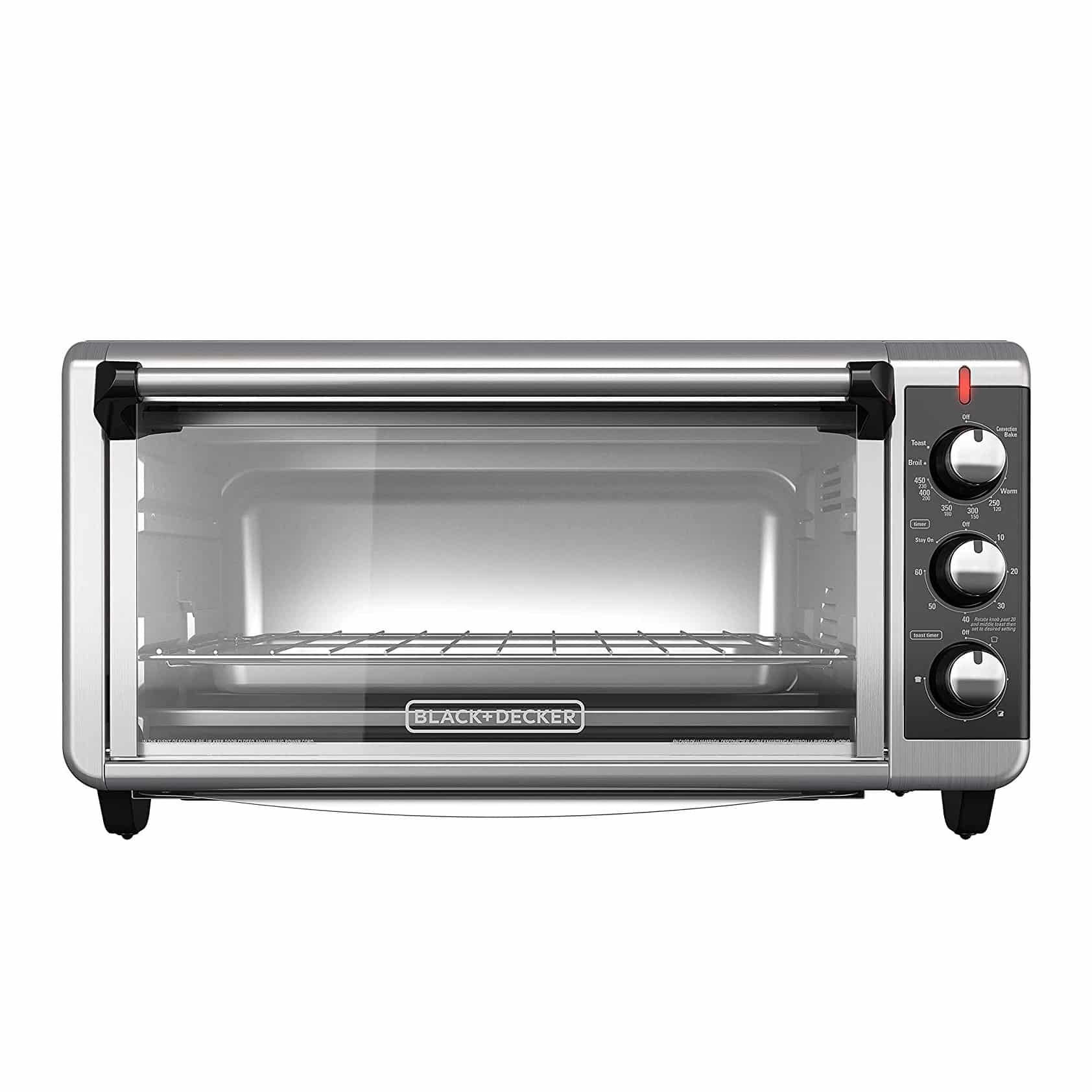 BLACK+DECKER 8-Slice Countertop Oven