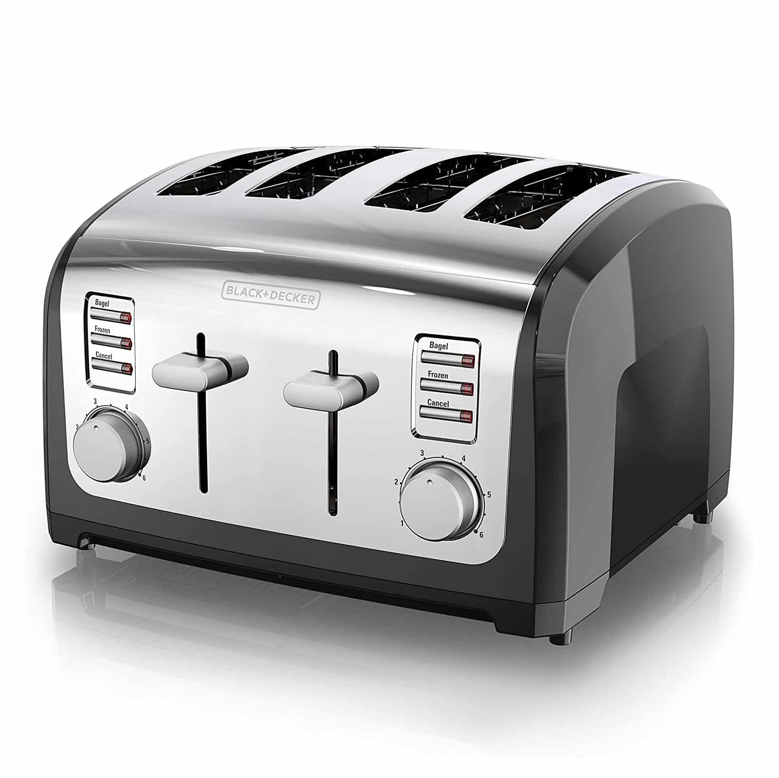BLACK+DERCKER 4-Slice Toaster