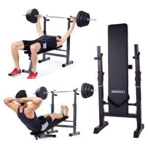 JAXPETY Weight Lifting Flat Incline Bench