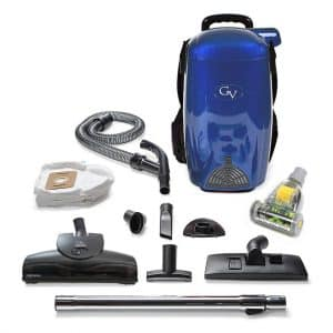 8 Qt Lightweight HEPA Backpack Vacuum
