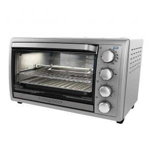 BLACK+DECKER Rotisserie Toaster Oven