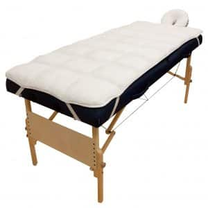 Body Linen Body Massage Table Pad Set