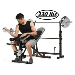 Kepteen Olympic Weight Bench