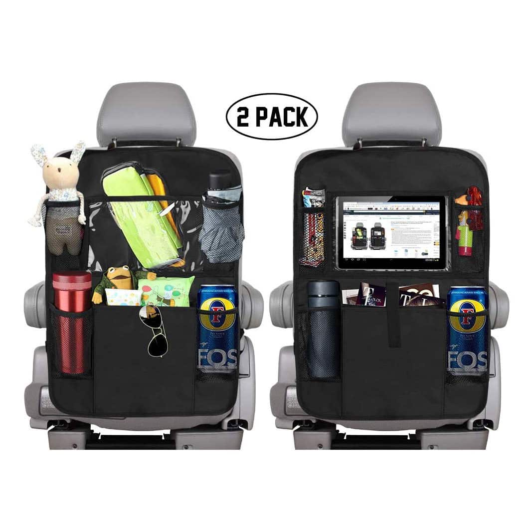 KNGUVTH Backseat Car Organizer with 10