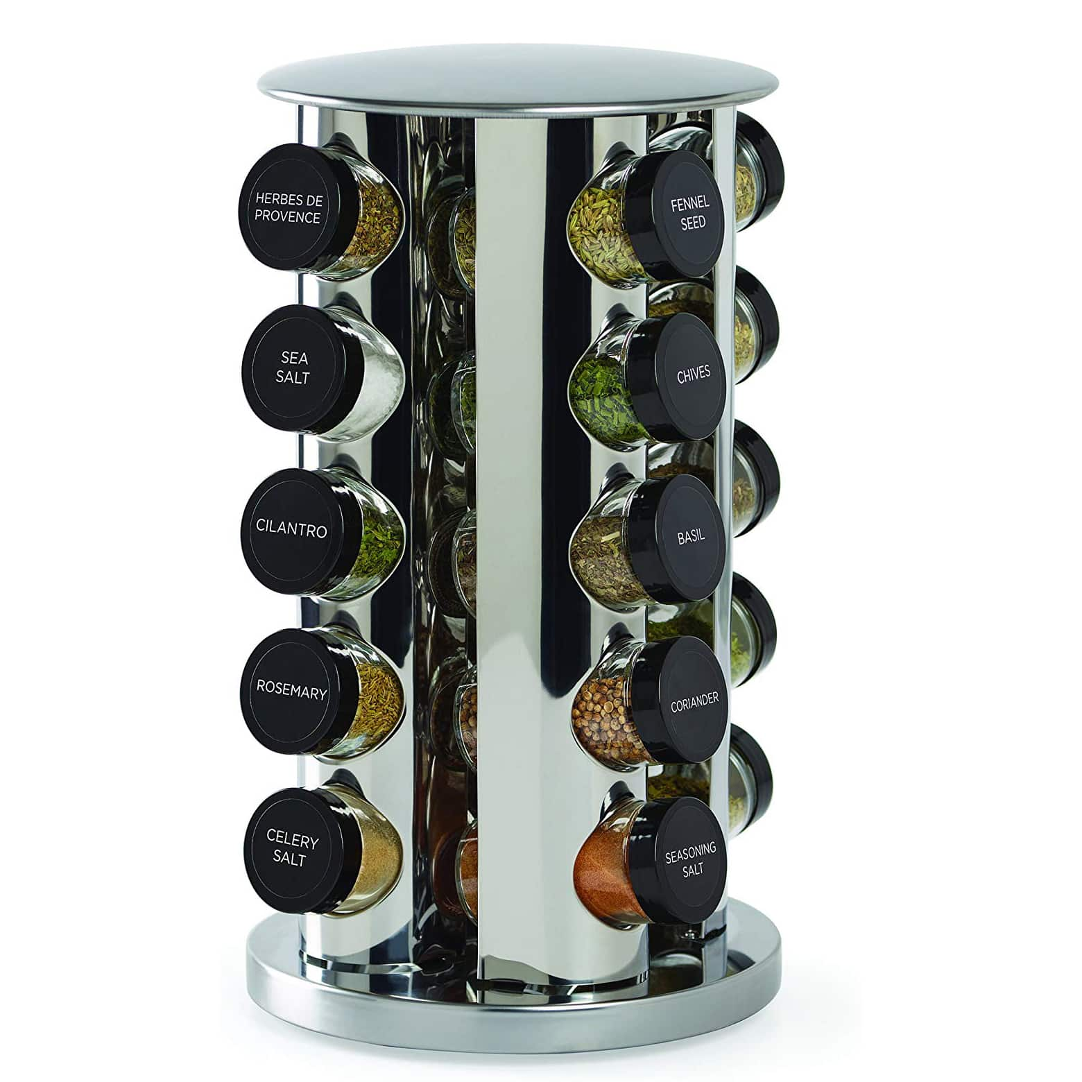 Kamenstein 30020 20-Jar Spice Rack