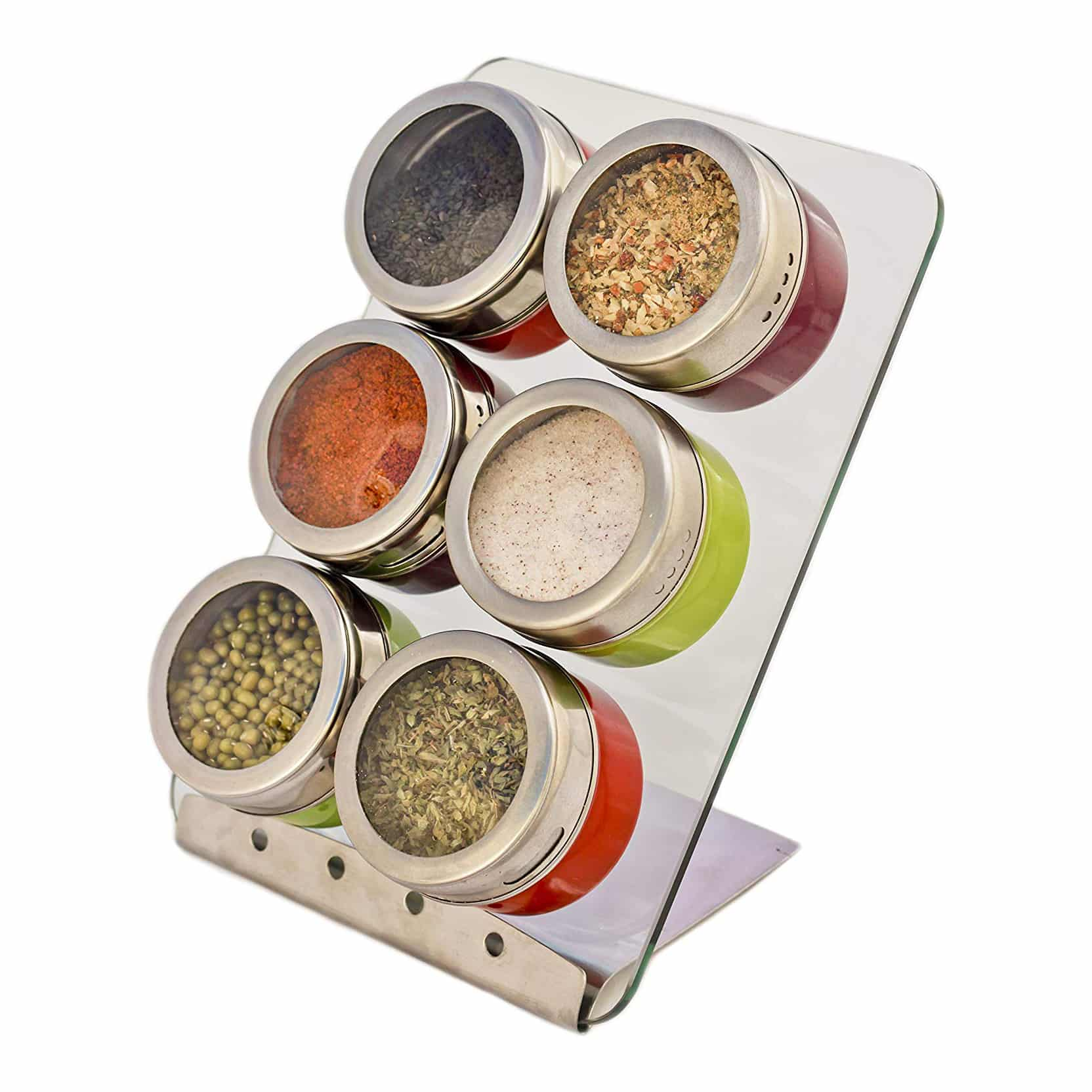 Zoie + Chloe Magnetic Spice Set Rack