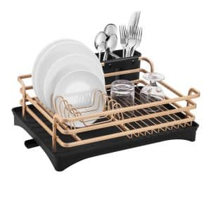 HabiLife Aluminum Dish Drying Rack