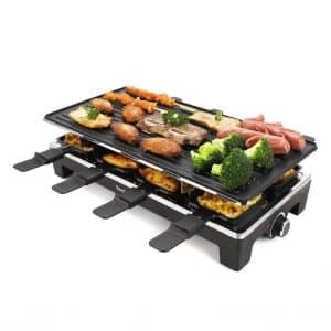 Techwood Smokeless Grill Electric Grill with LED Control panel and Removable Plate