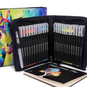 BENICCI Artist Watercolor Brush Pens Set
