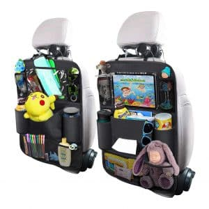 OYRGCIK Backseat Car Organizer with a Tablet Holder, 2 Pack
