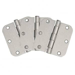 Design House 181412 Satin Nickel 3-Pack Door Hinge