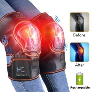 HailiCare Rechargeable Heat Therapy Heating Pad Massager