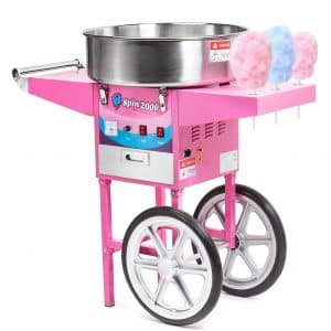 Olde Midway Cotton Candy Machine