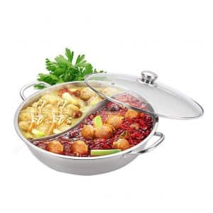 Yzakka Electric Stainless Steel Hot Pot