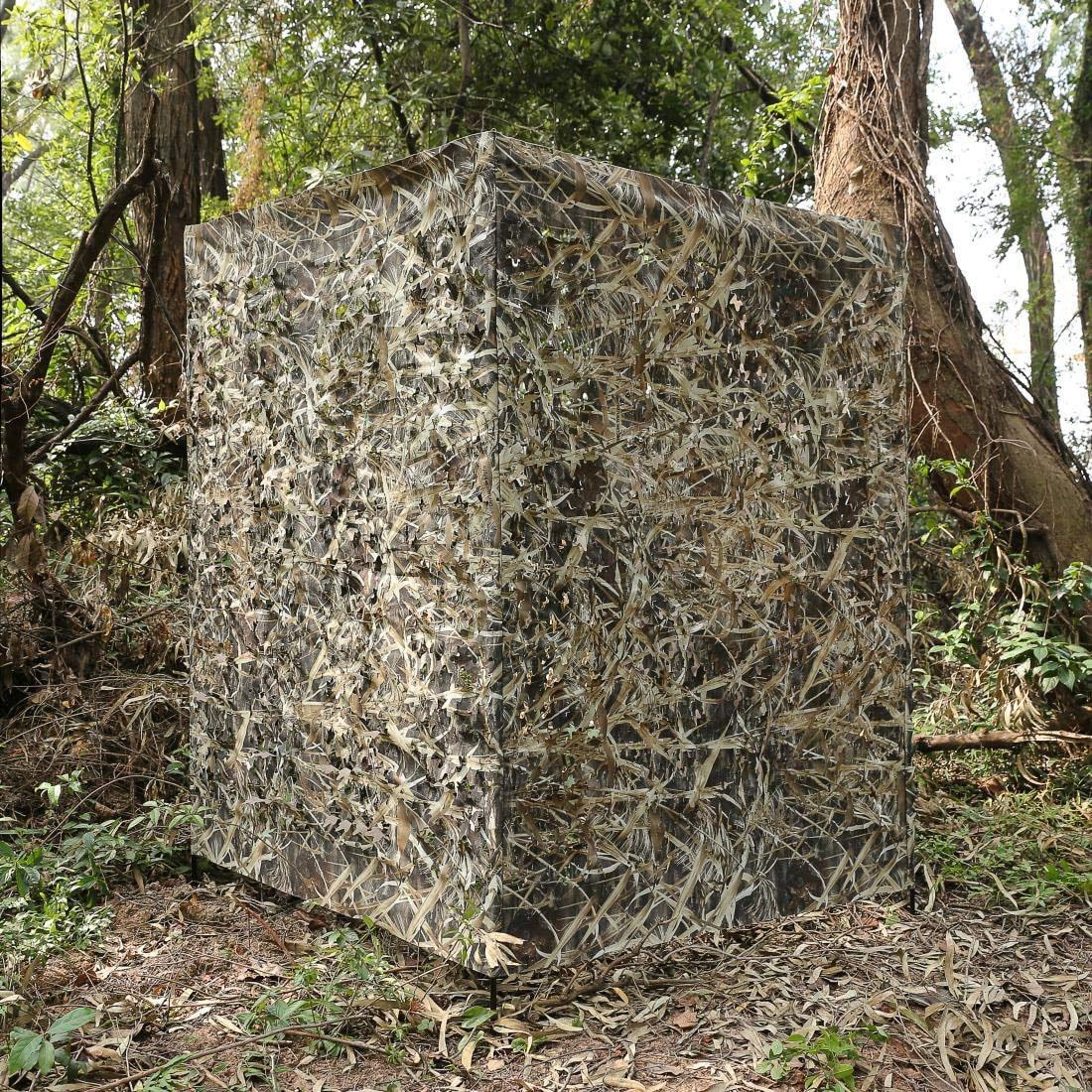 Auscamotek Ground Hunting Blind - Adjustable height