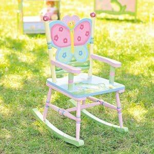Fantasy Fields Garden Theme Rocking Chair