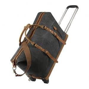 Kattee Luggage Rolling Wheeled Duffel Bag