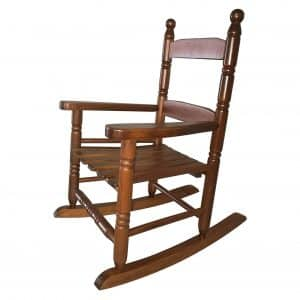 Natural Wood Rocking Chair or Children