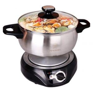 Liven Stainless Steel Electric Hot Pot