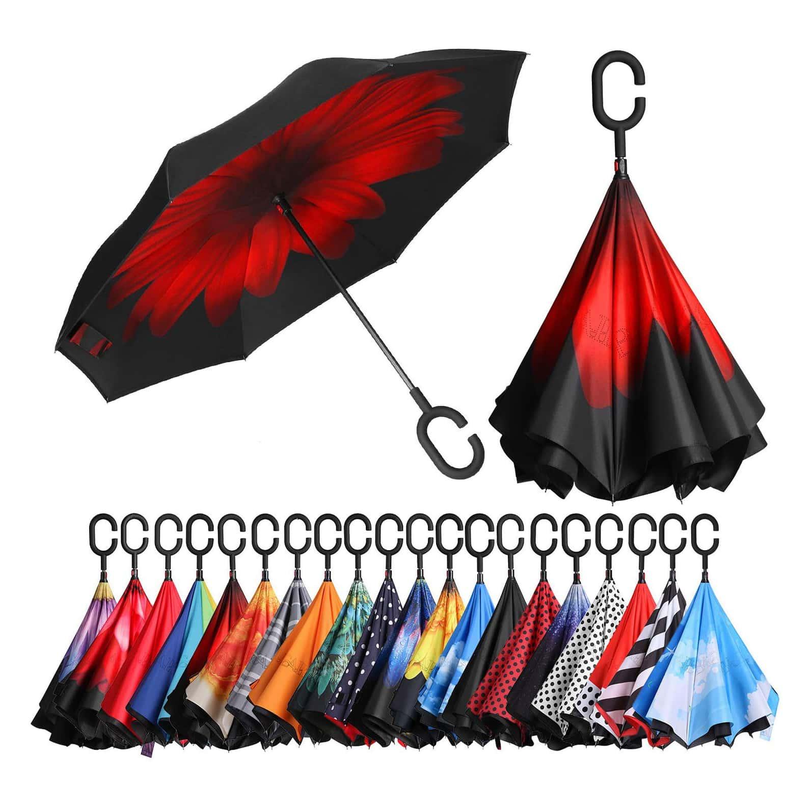 Bagail Inverted Dual Layer Umbrella