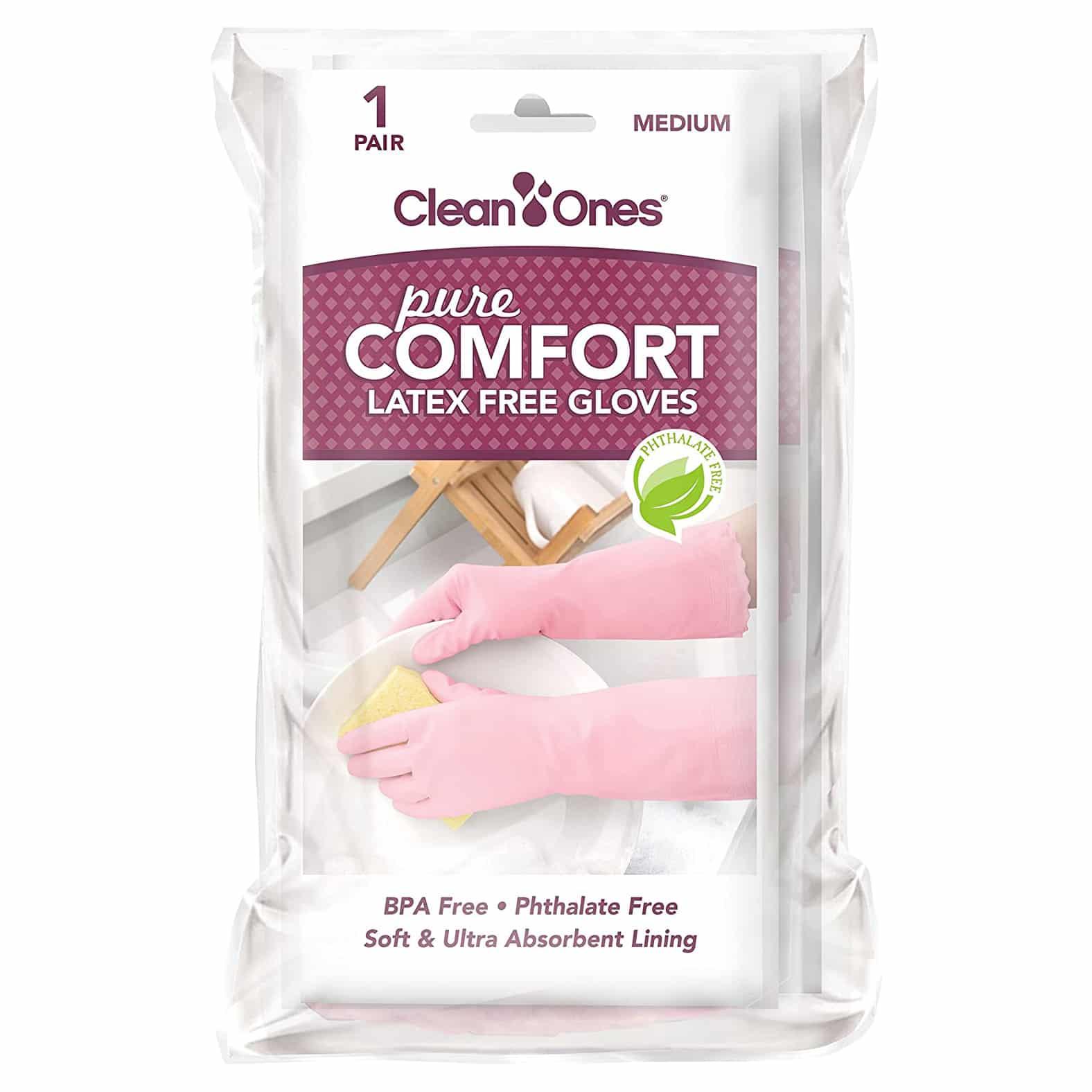 Clean Ones Pure Comfort Latex-Free Vinyl Gloves
