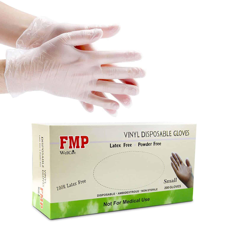 Fit Meal Prep Disposable Vinyl Non-Sterile Gloves