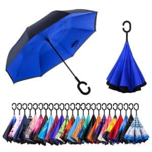 Newsight Inverted Upside Down Umbrella