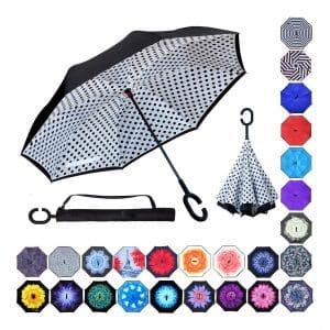Z Zameka Inverted Double Layer Umbrella