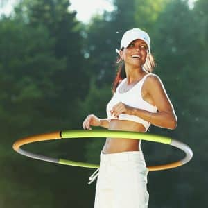 Dynamis Fat Burning Weighted Hula Hoopa