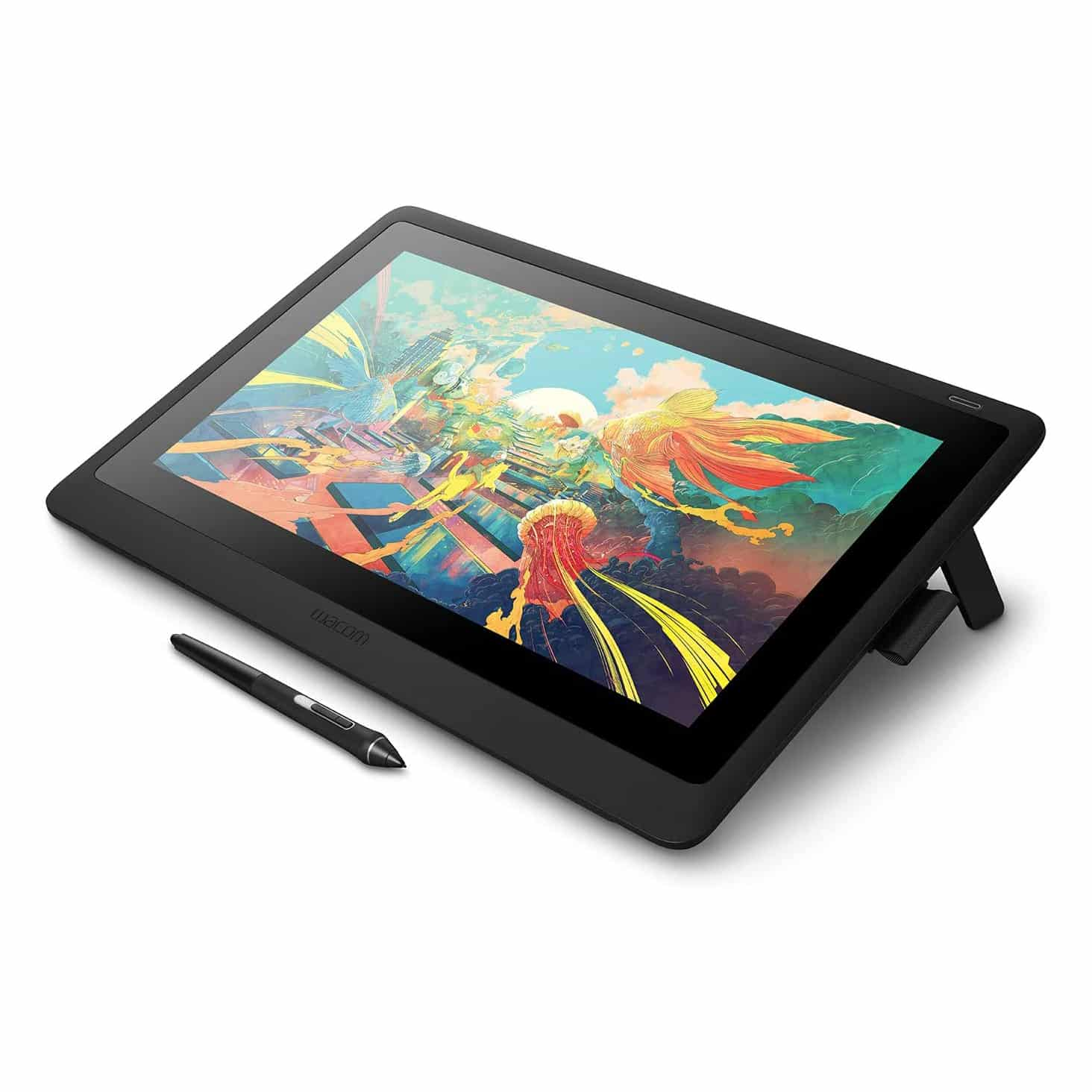 Wacom Cintiq DTK1660K0A Drawing Tablet with Screen