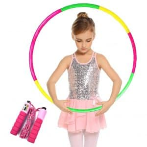 Raoccuy Hoola Hoops for Kids Toys with Jump Rope