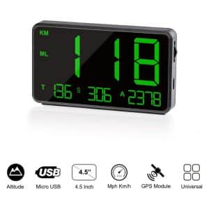 TIMPROVE Universal Digital Car Speedometer