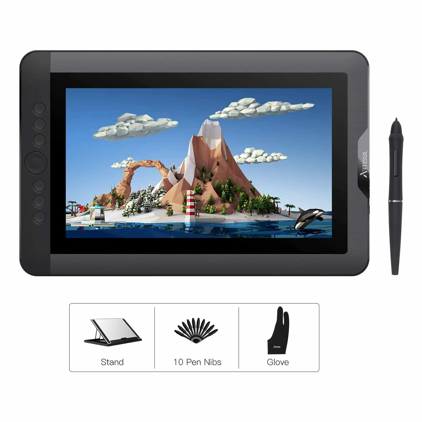 Artisul D13S Drawing tablet with screen