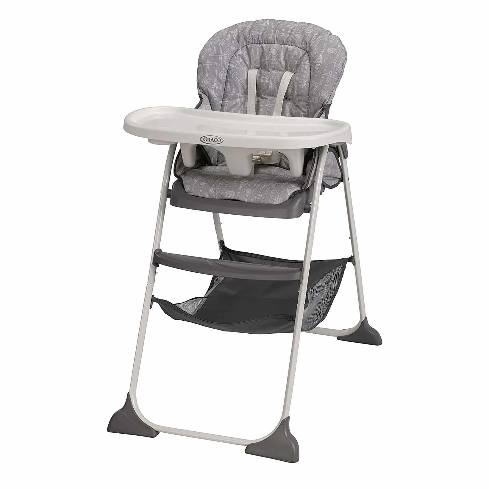 Graco Slim Snacker High Folding Chair