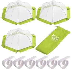 H. 3 Pack Food Cover Tents