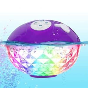 Blufree Portable Bluetooth Floating 50ft Range Speakers