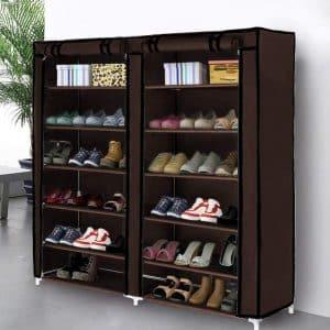 Blissun Shoe Rack Cabinet Tower