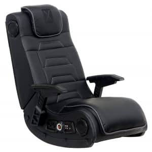 X Rocker Pro Series H3 Black Leather Gaming Chair