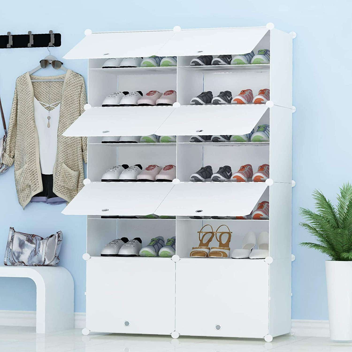 JOISCOPE Shoe Storage Tower