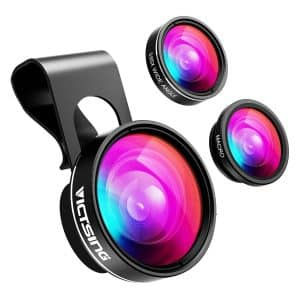 VicTsing Clip-on Phone Camera Lens Compatible with Most Android, iPhone and Smart Phone