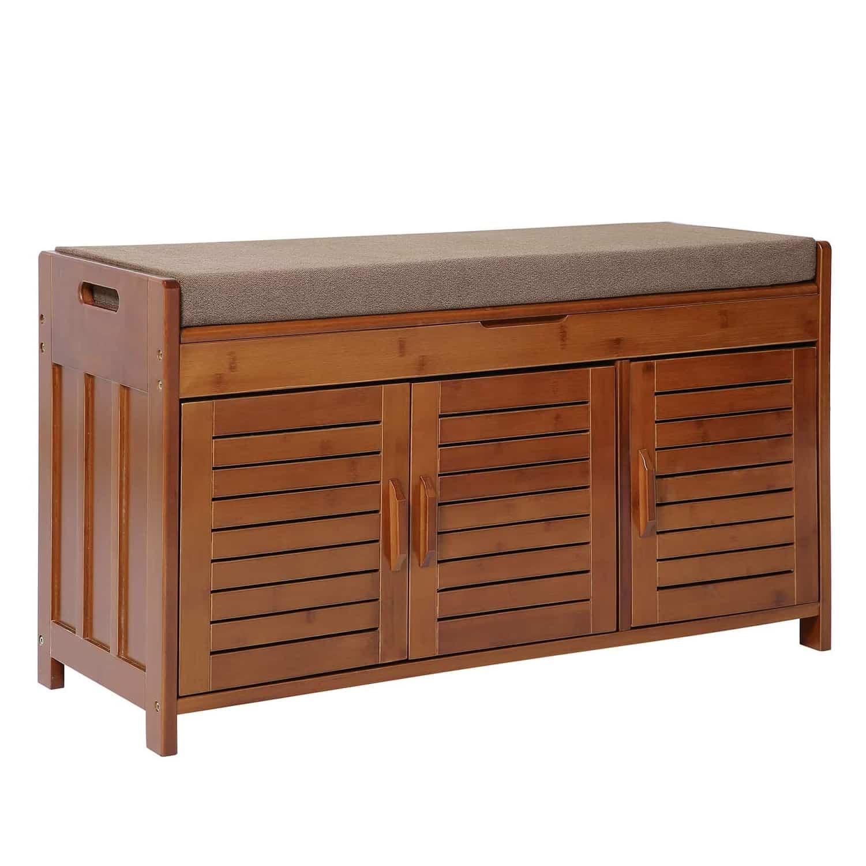 K KELBEL Shoe Rack, Bench and Shoe Cabinet