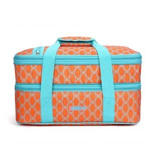 MIER Insulated Double Casserole Carrier