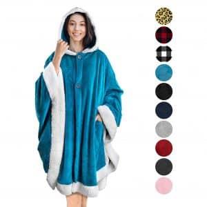 PAVILIA Angel Hooded Blanket Wrap