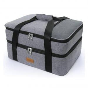 Lifewit Durable Decker Casserole Carrier