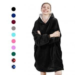 AmyHomie Sweatshirt Hooded Blanket